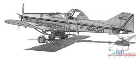 Bellanca Aircraft Corporation Service Letter No 87a Thrush Thrush 660 Pen And Ink Drawing