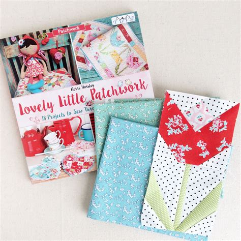 Patchwork Book - clover violet lovely patchwork book review