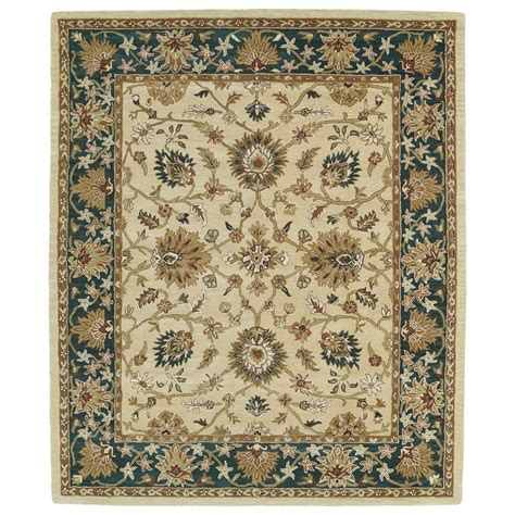 11 x 8 area rugs kaleen taj gold 8 ft x 11 ft area rug taj09 05 8 x 11 the home depot