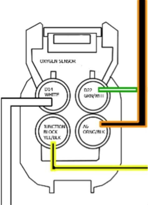4 wire o2 sensor wiring honda tech honda forum discussion