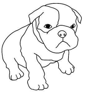 coloring page boxer dog boxer dog coloring pages related keywords boxer dog