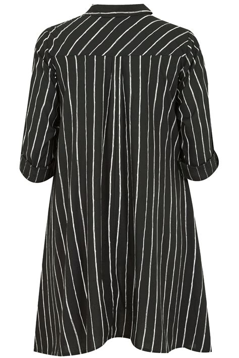 Fei Li Button Motif Leather Handbag Set Pastel black white asymmetric stripe shirt plus size 16 to 36