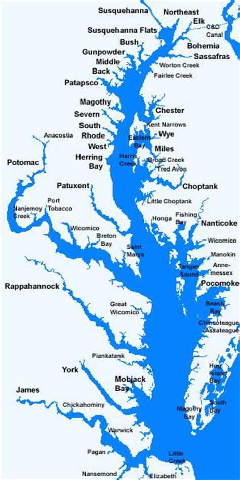maryland bay map map of the chesapeake bay search chesapeake bay