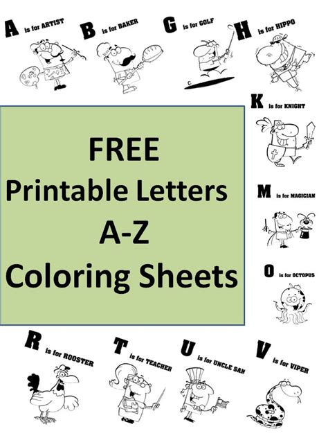 printable colourful alphabet letters a z free printable letters a to z unique coloring sheets