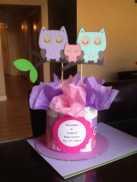 Owl Baby Shower Centerpiece Art Craft Pinterest Baby Owl Centerpieces For Baby Shower