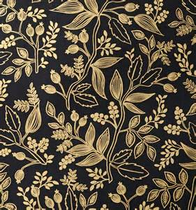 Queen Anne Victorian Queen Anne Ebony Wallpaper By Rifle Paper Co Made In Usa