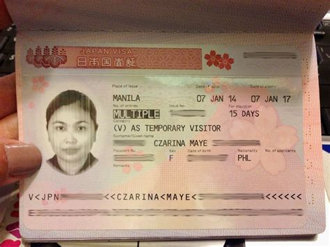 Visa Letter Japan The Travel Junkie How To Apply For Entry Japan Tourist Visa For Filipinos