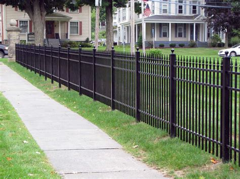 Fence Extraordinary Aluminum Fencing For Home Hd Wallpaper