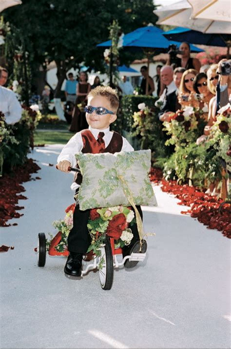 today brides an excuse to put your wedding dress on again ring bearers 5 fun ways for kids to walk down the aisle