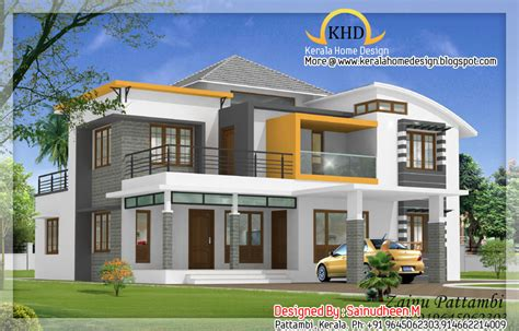 home design plan and elevation 8 beautiful house elevation designs kerala home design