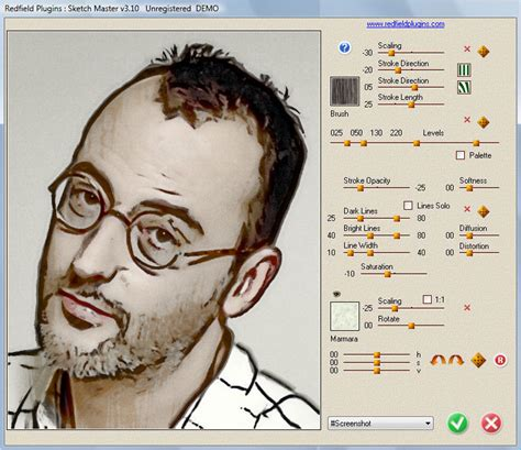 doodle drawing software photo to sketch in sketch master photo software
