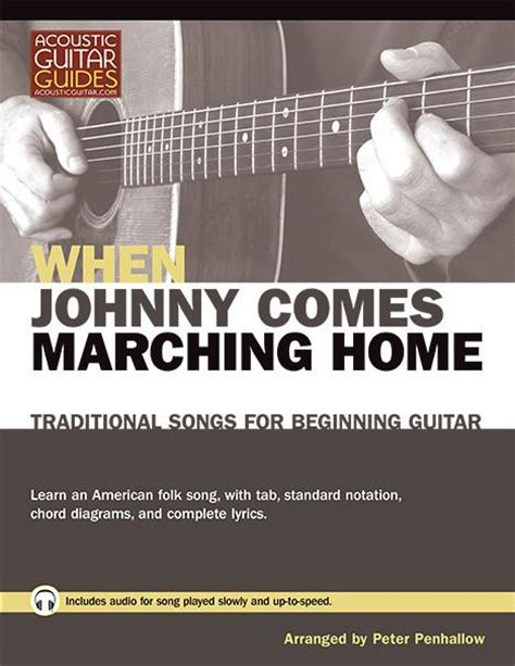 traditional songs for beginning guitar when johnny comes