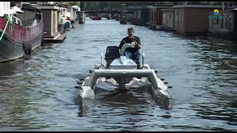 catamaran engine motor catamaran amsterdam youtube