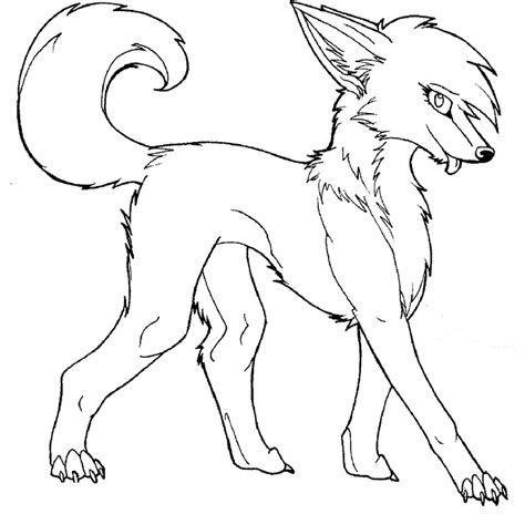 snow fox coloring pages