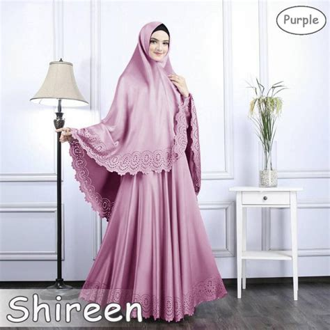Gamis Soft By Shireen gamis syari polos shireen soft ungu butikjingga