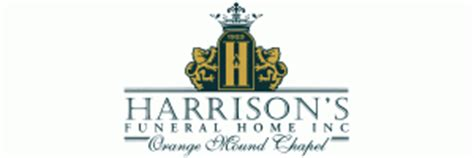 harrison s funeral home orange mound tn