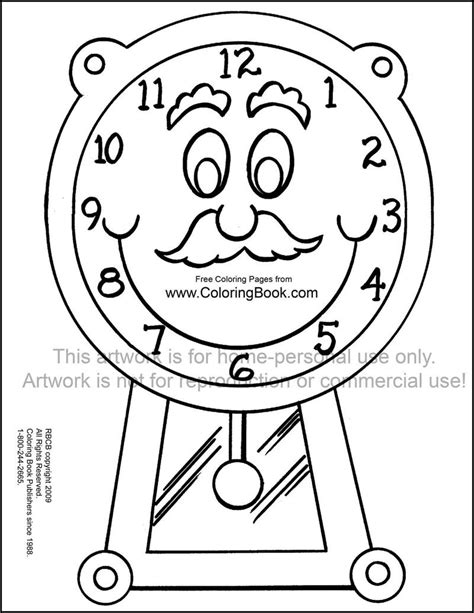 printable clock book blank time number lines new calendar template site