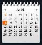 Calendar Gadget Calendar Gadget For Windows Vista Sidebar