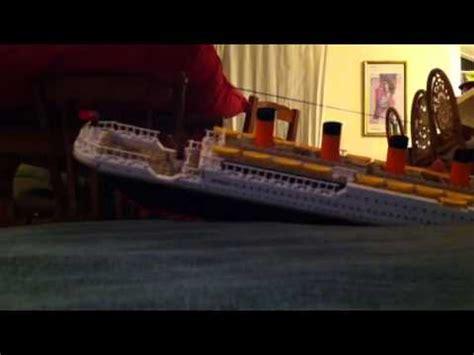 film titanic lego cobi lego titanic movie youtube
