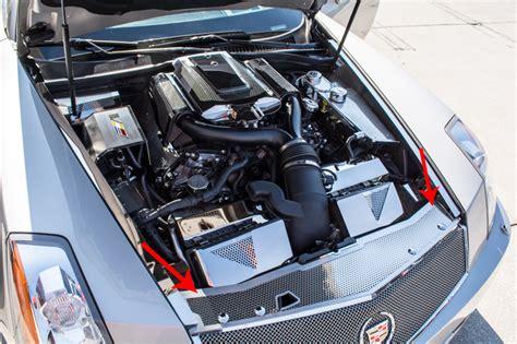 Cadillac Xlr V Engine by Cadillac Xlr Xlr V 2004 2009 Front Header Plate