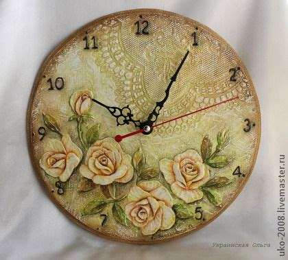 Decoupage Clock - 23 best decoupage wall clocks images on wall