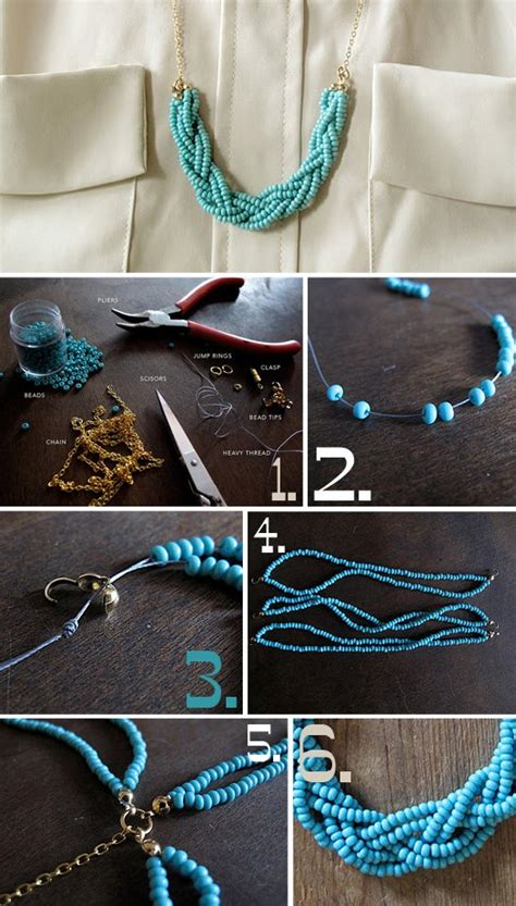necklace diy ideas 28 diy ideas to make your own statement necklace its