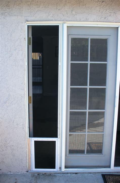 Screen Door With Doggie Door by 25 Factors To Consider Before Installing Door For