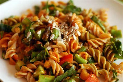 return to the garden vegetable pasta salad