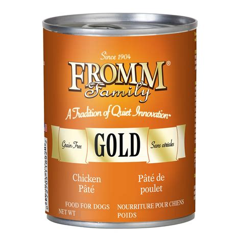 fromm gold food fromm gold grain free chicken pate canned food 12 2z 12 the shop