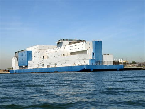 bronx boat jail ny s vernon c bail floating prison is like a cruise ship