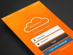 orange mobile login 1000 images about mobile app login screen on