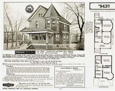 sears home floor plans montgomery ward a