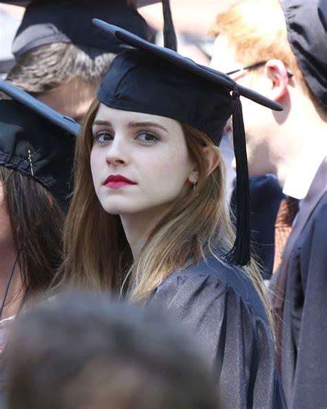 emma watson graduation emma watson graduates from brown lainey gossip