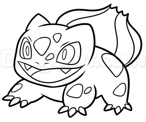 how to create doodle how to draw bulbasaur from go step by step