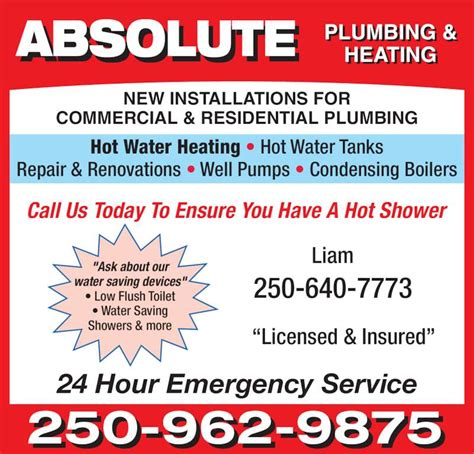 Bc Heating And Plumbing by Able Plumbing Heating Prince George Bc 6733 Lilac