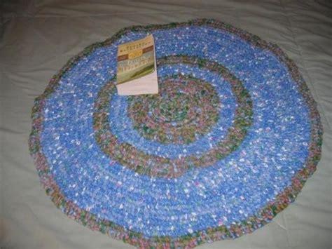 toothbrush rug free rag rug crochet se free