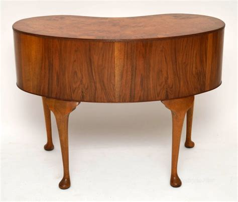 antique kidney shaped desk antique burr walnut kidney shaped desk dresser