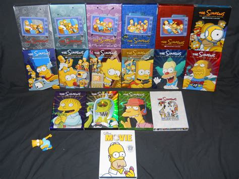 Dvd Simpsons The Boxset Original the simpsons dvd collection by malidicus on deviantart