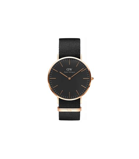 Daniel Gold daniel wellington classic black cornwall 40mm gold