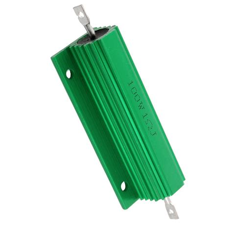 100 ohm resistor center tap 2 pcs 100w 1 ohm tap mounted aluminum housed wirewound resistors hy ebay
