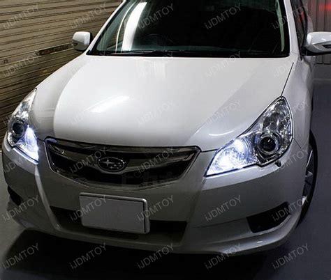 subaru legacy headlights shine bright with 9005 led drl bulbs for your subaru wrx