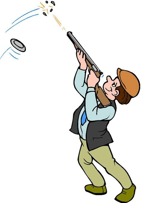 shooting clipart trap shooting clip cliparts co