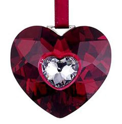 swarovski swarovski 2005 heart ornament 691019 swarovski