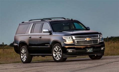 hennessy pontiac hennessey chevrolet suburban hpe500 supercharged