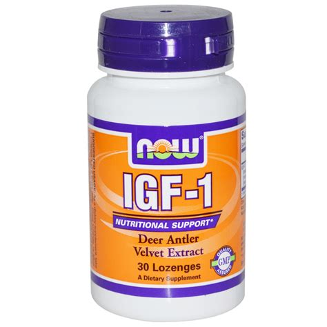 g factor supplement now foods igf 1 30 lozenges iherb