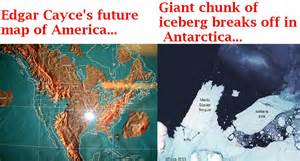 edgar cayce future map of america edgar cayce predictions thought uncommon