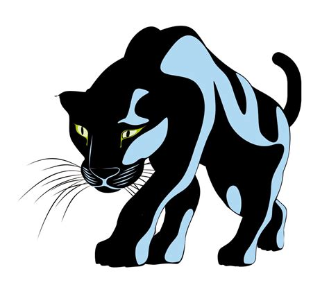 Clipart Panther panther vector clipart best