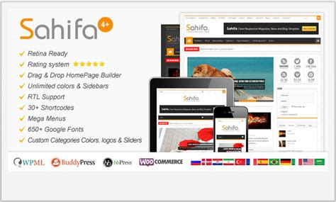 sahifa theme mobile view 25 responsive magazine wordpress themes