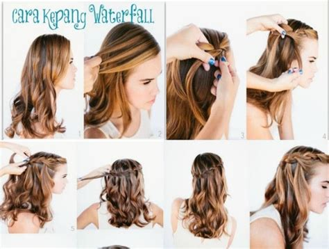 tutorial rambut wave 17 best images about hair to do on pinterest models