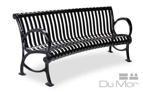 dumor bench curved bench ri446 dumor site furnishings